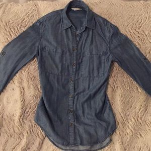 C&C California Chambray blouse